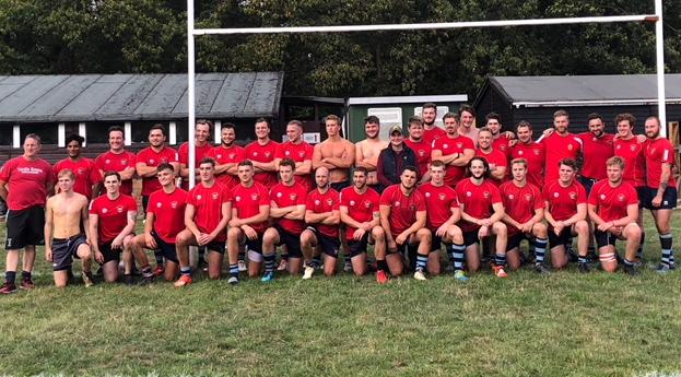 Reeds Weybridge RFC Seniors Team Photo Sep 2018