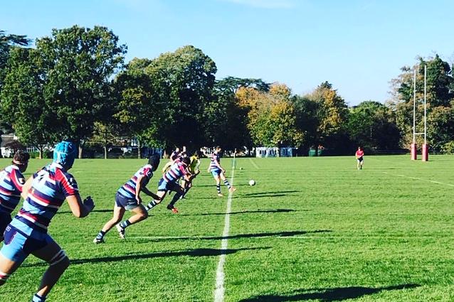 RWRFC kick off vs Old Freemen 20-10-2018